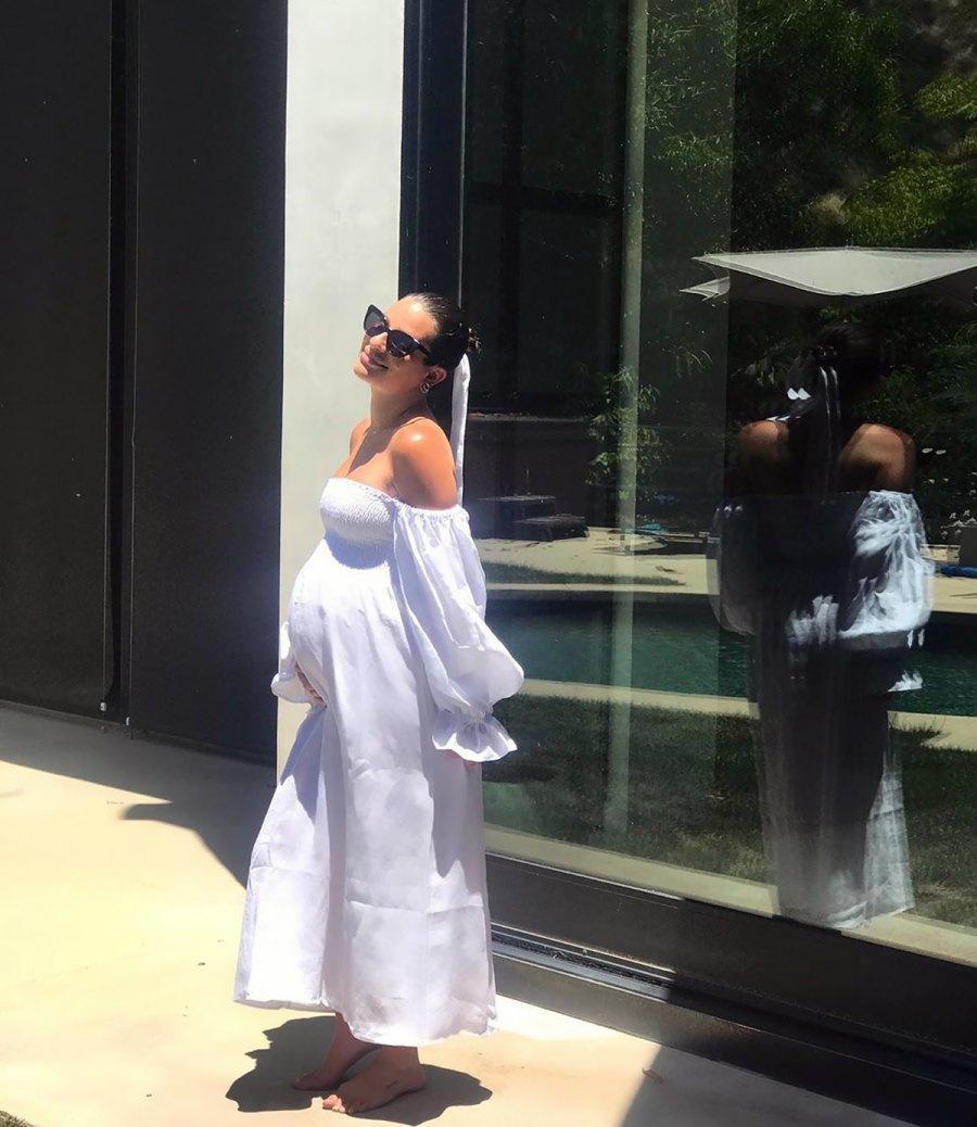 Lea Michele Baby Bump Album