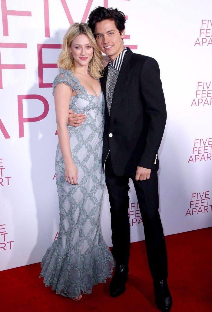 Lili Reinhart and Cole Sprouse Five Feet Apart Destructive Twitter