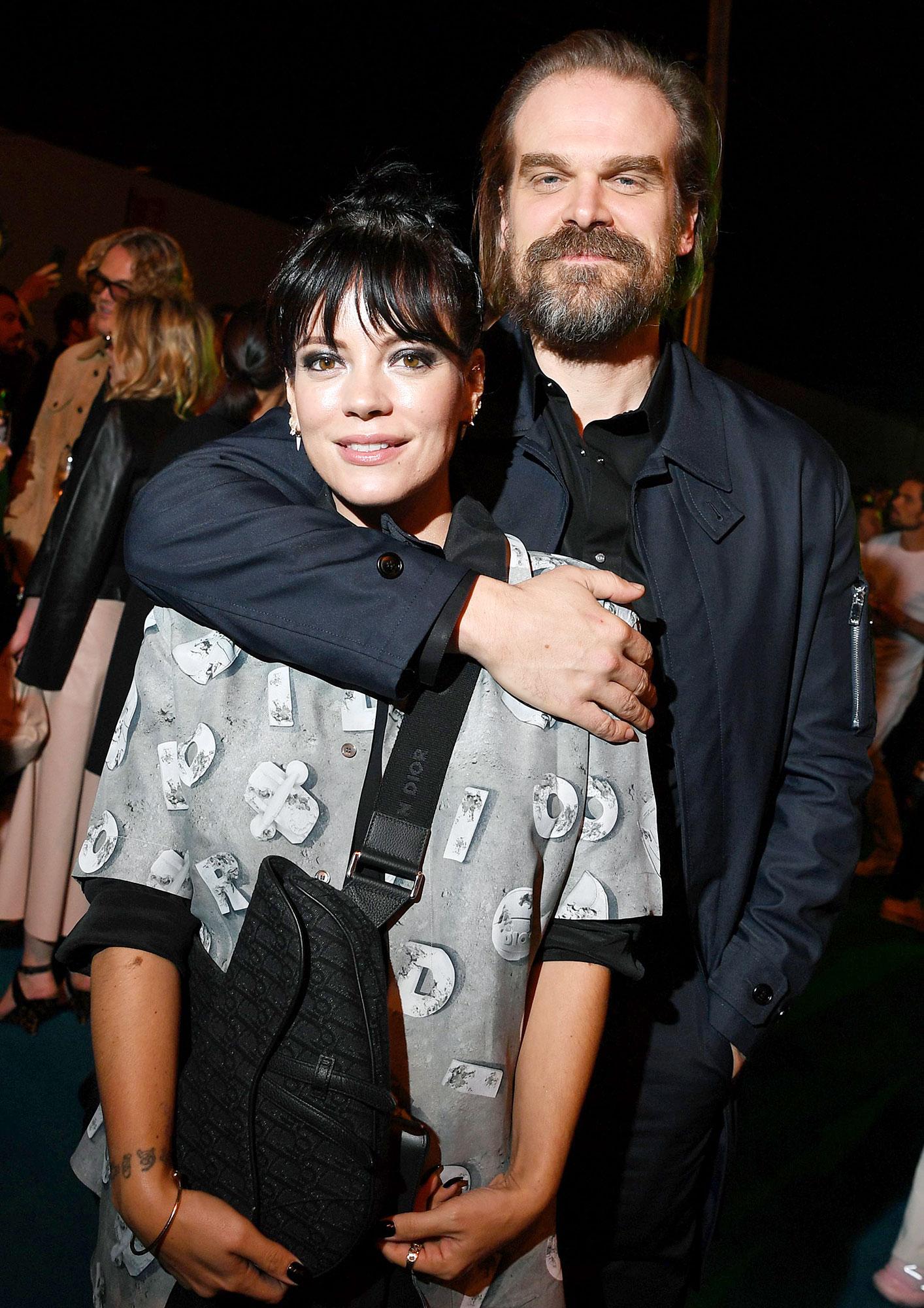 Lily Allen Seemingly Confirms David Harbour Engagement Rumors