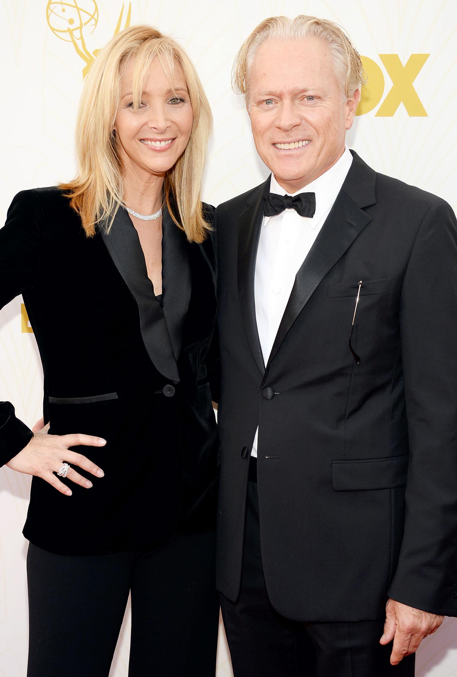 Lisa Kudrow with Husband Michel Stern