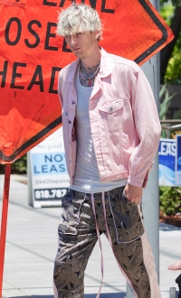 Machine Gun Kelly Steps Out After Releasing Steamy Video With Megan Fox