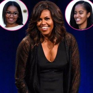 Malia Obama Sasha Obama Commend Their Mom Michelle Obama Doc