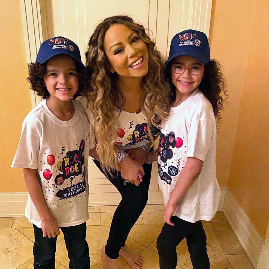 Mariah Carey Celebrating Kids' Birthdays in Special Ways While Quarantined