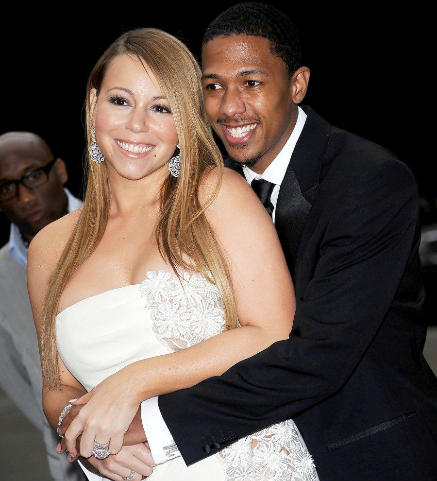 Mariah Carey and Nick Cannon push present