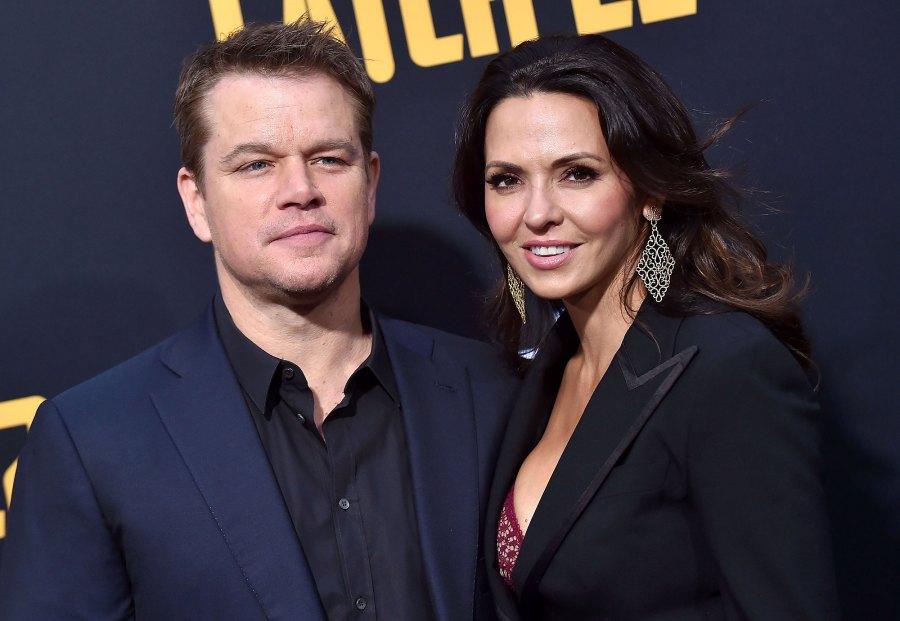 Matt Damon and Luciana Barroso Damon Reveals His Daughter Alexia Had Coronavirus