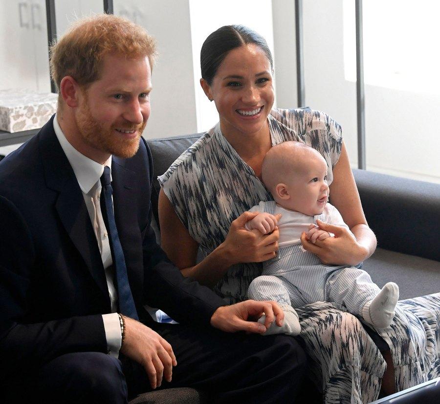Meghan Markle Reads To Archie Nickname Prince Harry
