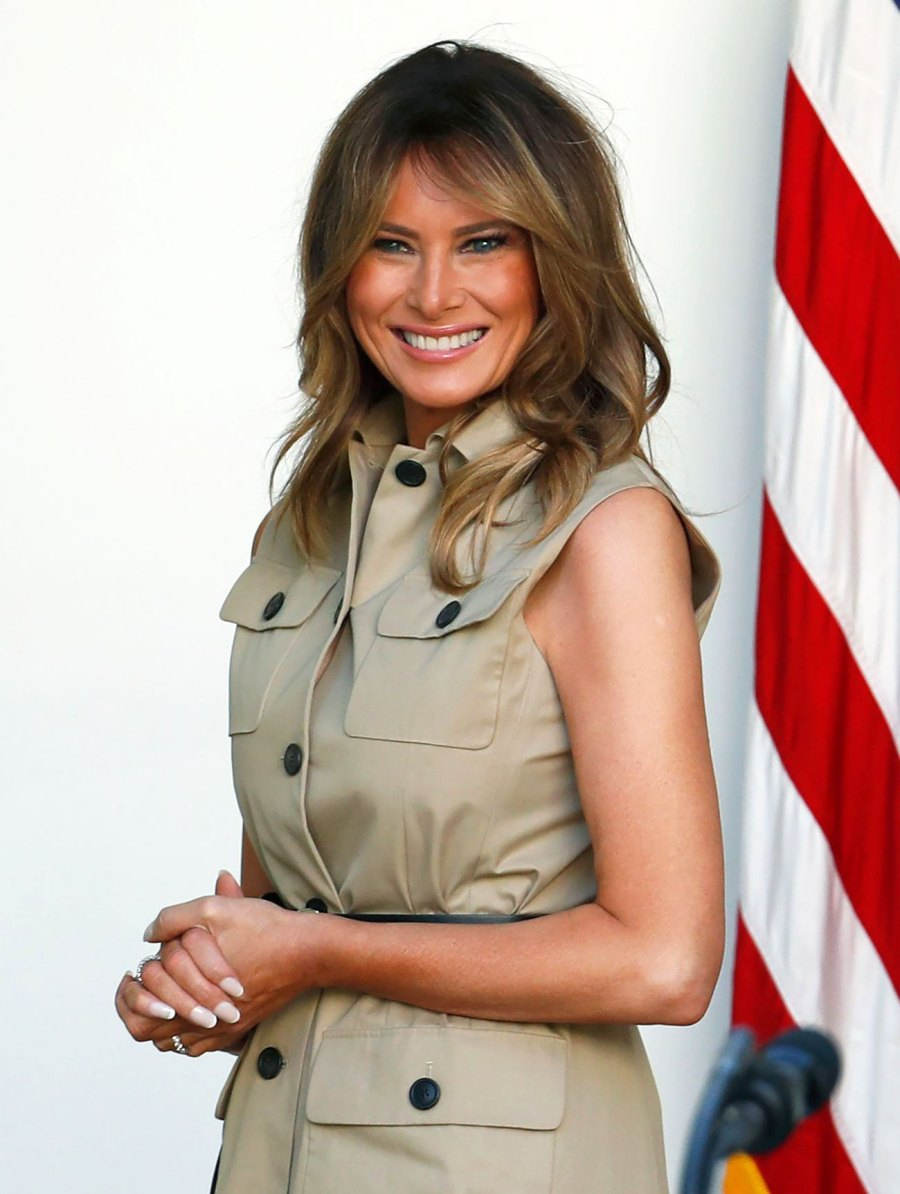 Melania Trump Brings Back This '90s Belt Trend