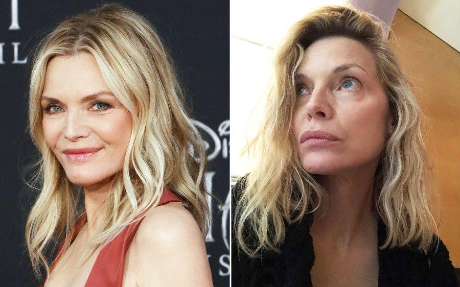 Michelle Pfeiffer Looks Flawless Makeup-Free