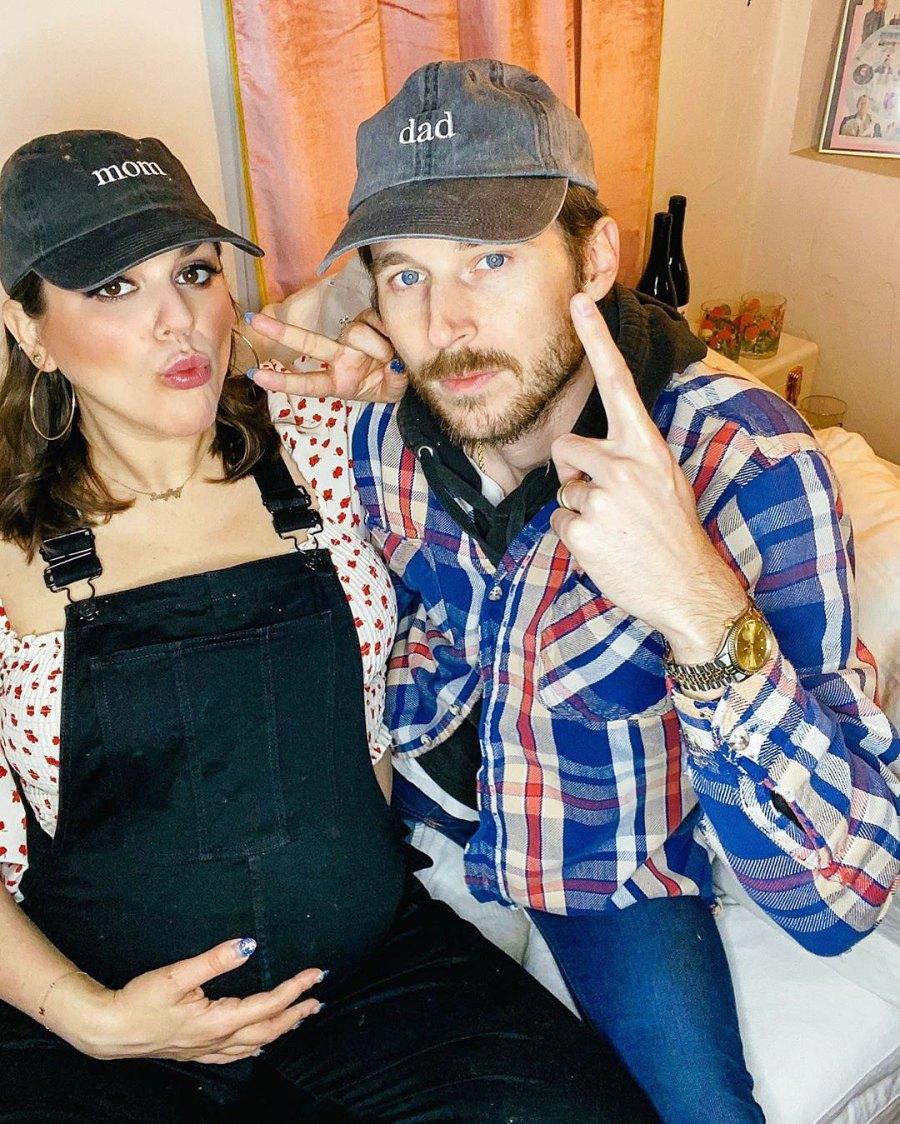 Molly Tarlov and Alexander Noyes Celebrities Announcing Pregnancies During the Coronavirus Pandemic