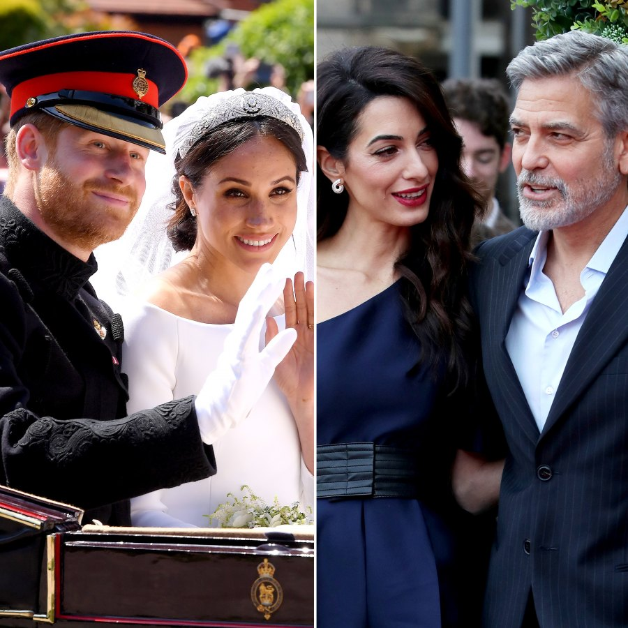 Most Expensive Wedding Cakes Meghan Prince Harry George Clooney Amal