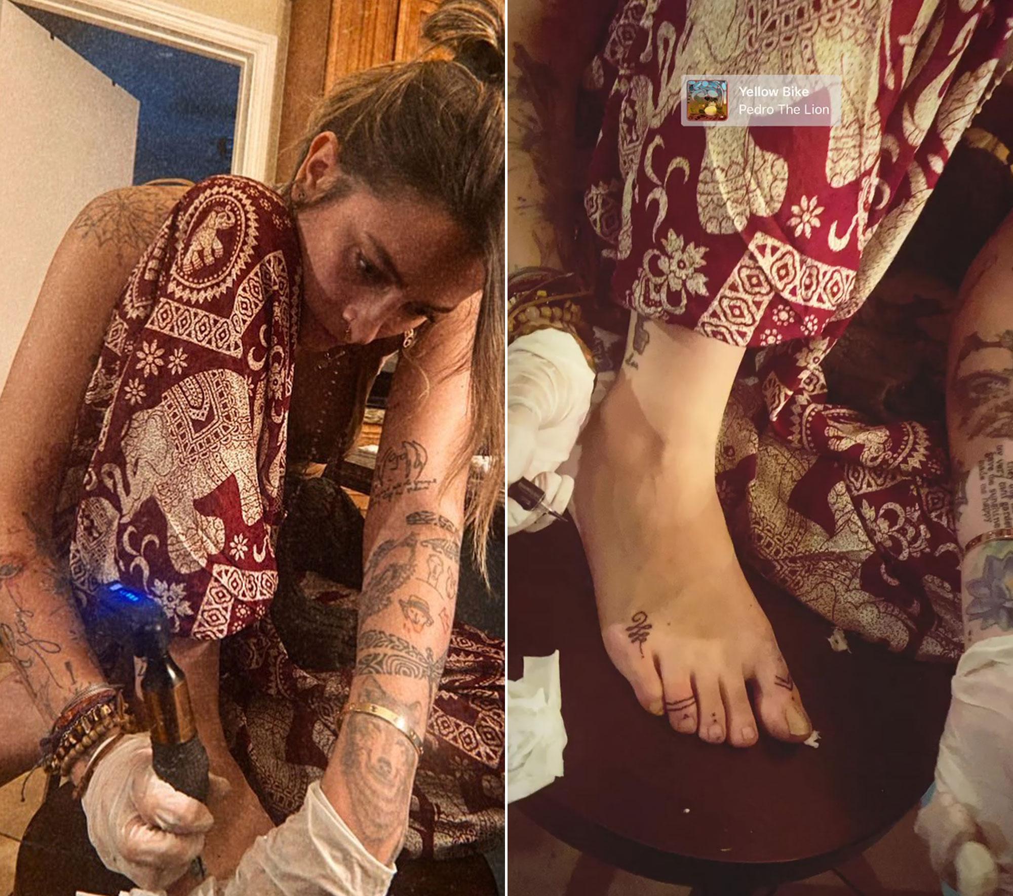 Paris Jackson Tattoos
