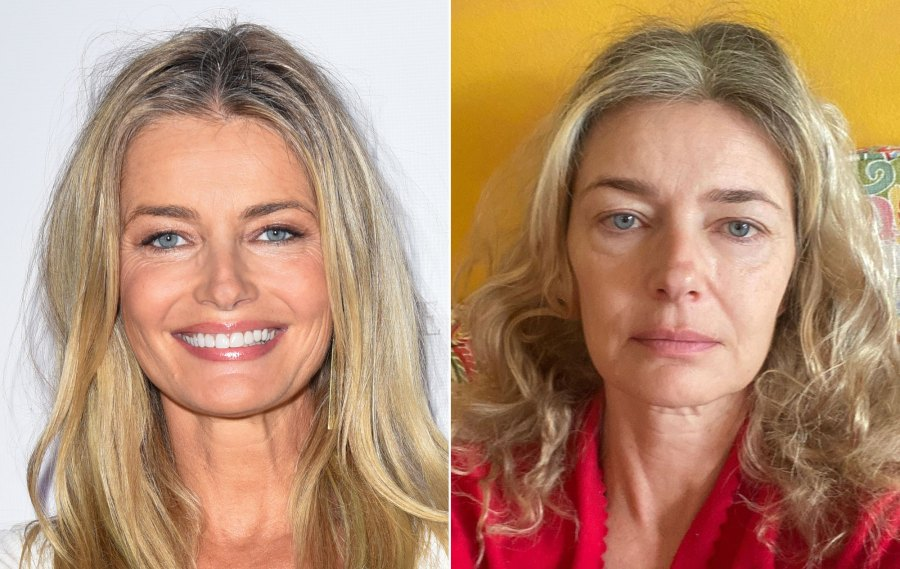 Paulina Porizkova, 55, Shares a 'First-Thing-in-the-Morning' Selfie