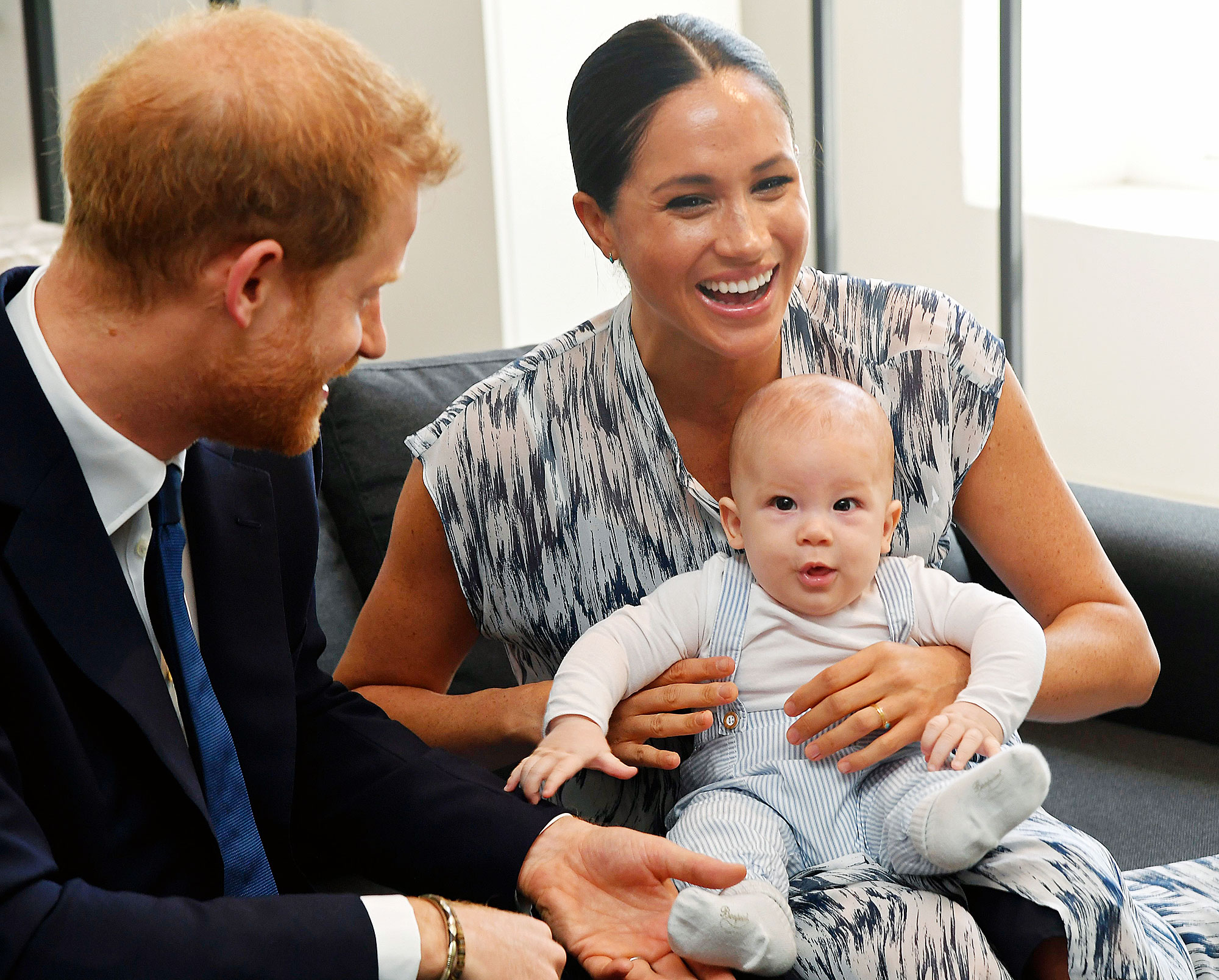 Prince Harry Meghan Markle Release New Photo Son Archie His 1st Birthday