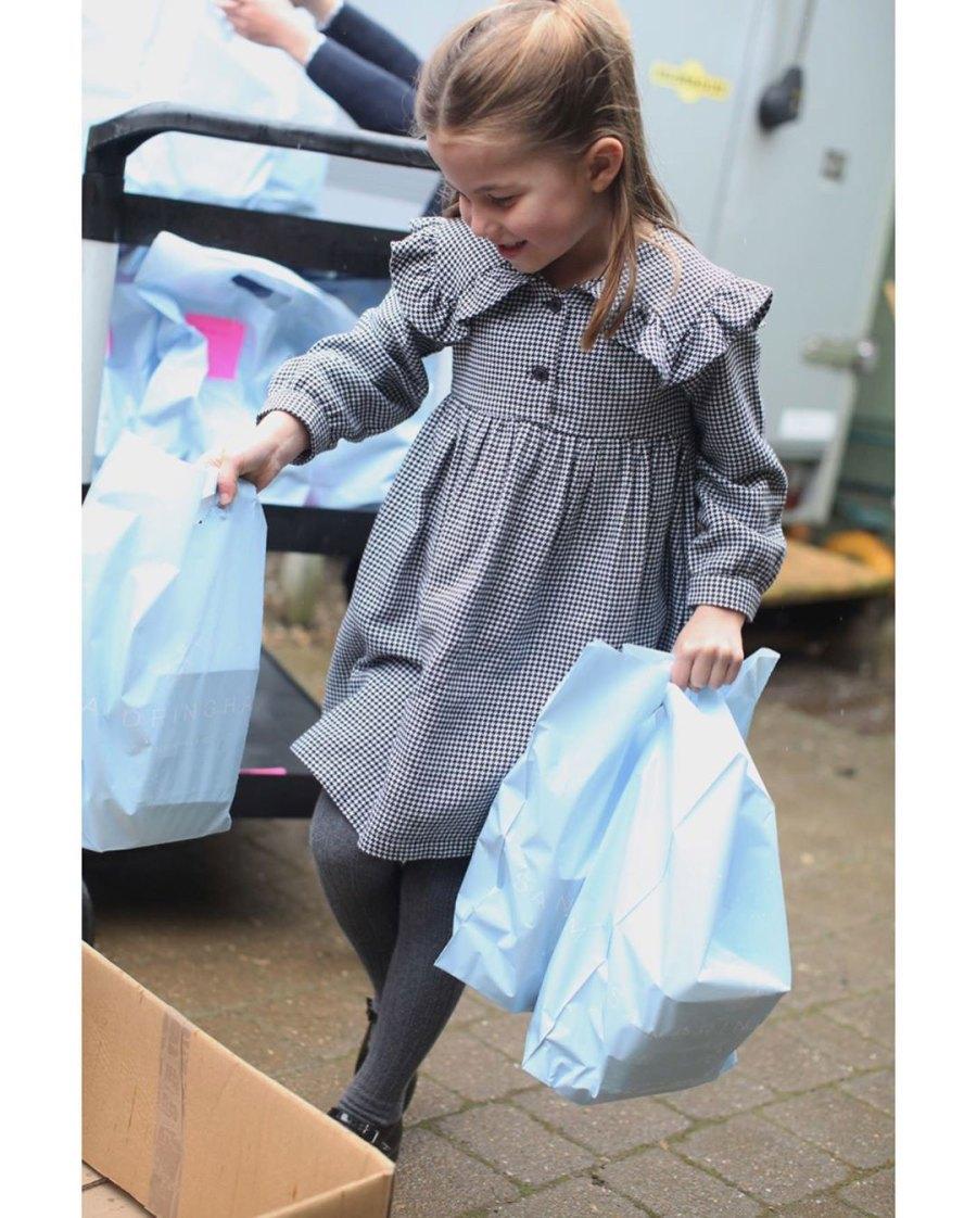 Princess Charlotte 5th Birthday Instagram