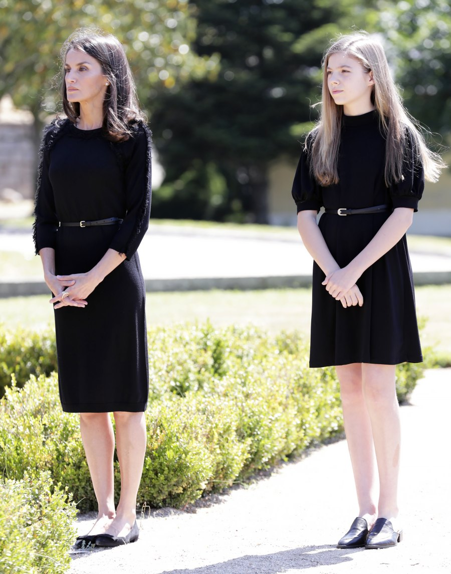 Queen Letizia Looks Elegant as She Pays Her Respects to COVID-19 Victims