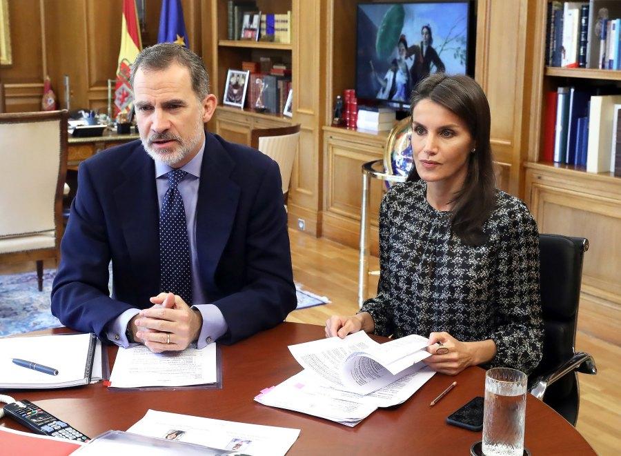 Queen Letizia Has a Go-To Accessory During COVID-19 Quarantine