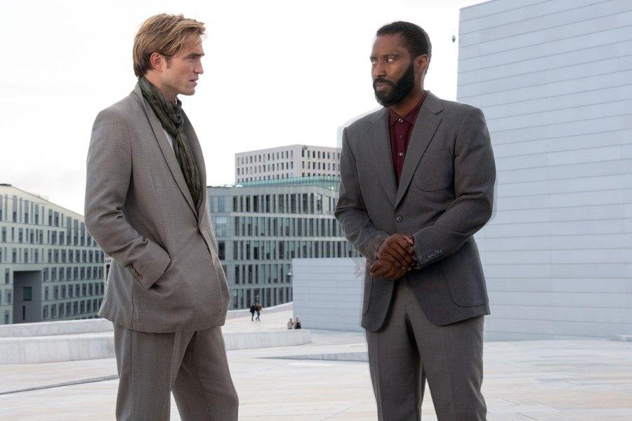 Robert Pattinson and John David Washington Tenet Summer Movies