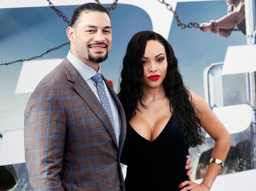 Roman Reigns and Galina Becker Celebrities Announcing Pregnancies During the Coronavirus Pandemic