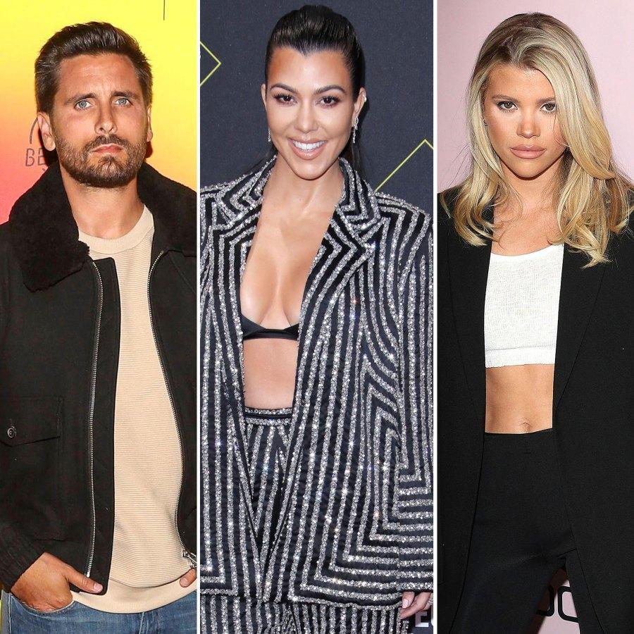 Scott Disick Celebrates Birthday With Kourtney Kardashian Kids After Sofia Richie Split