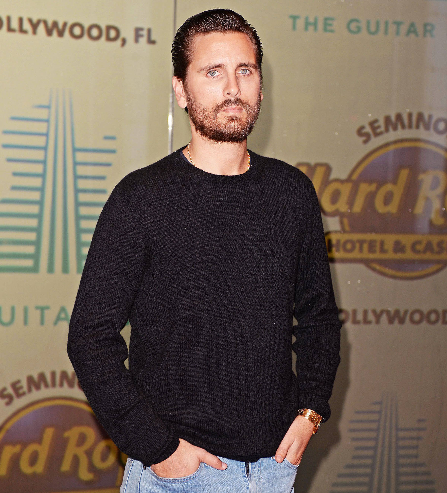Scott Disick at Seminole Hard Rock Hotel and Casino Checks Into Colorado Rehab for Substance Abuse