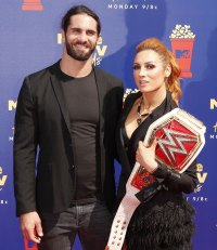 Seth Rollins and Becky Lynch Celebrities Announcing Pregnancies During the Coronavirus Pandemic