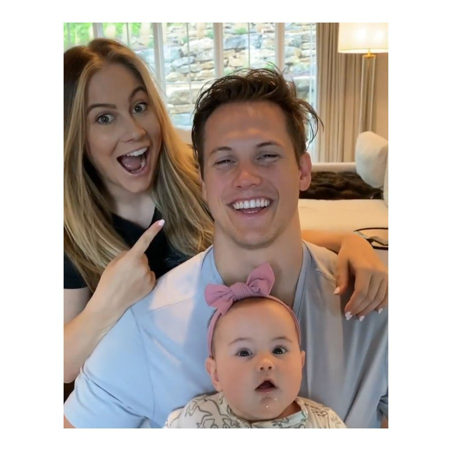 Shawn-Johnson-East-Shares-Her-Quarantine-Parenting Andrew East and Drew Hazel