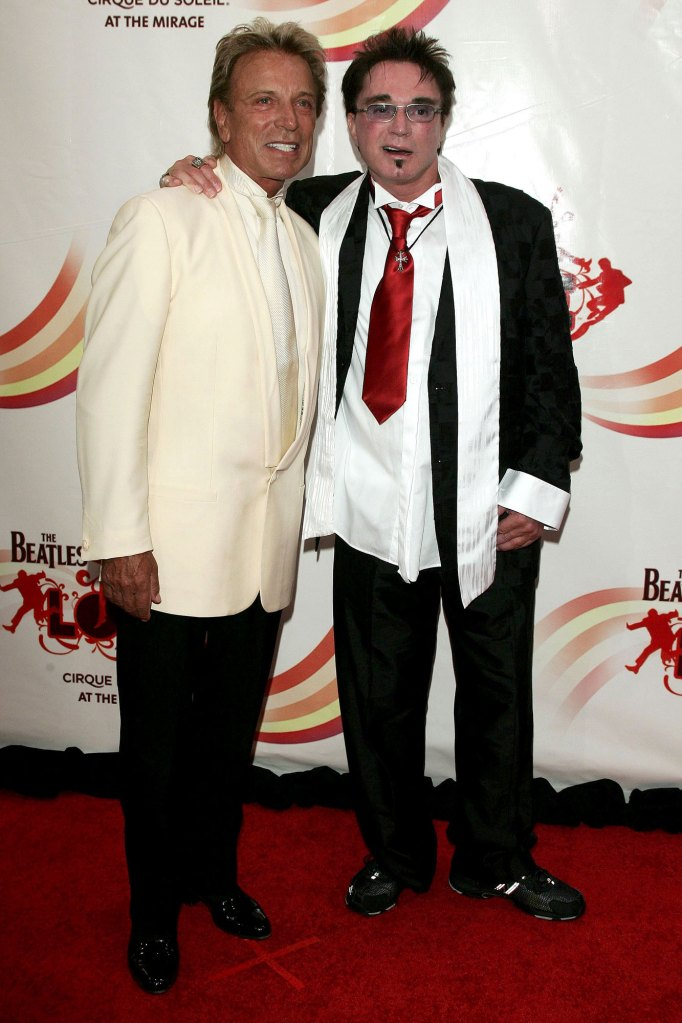 Siegfried Fischbacher and Roy Horn Death of Roy