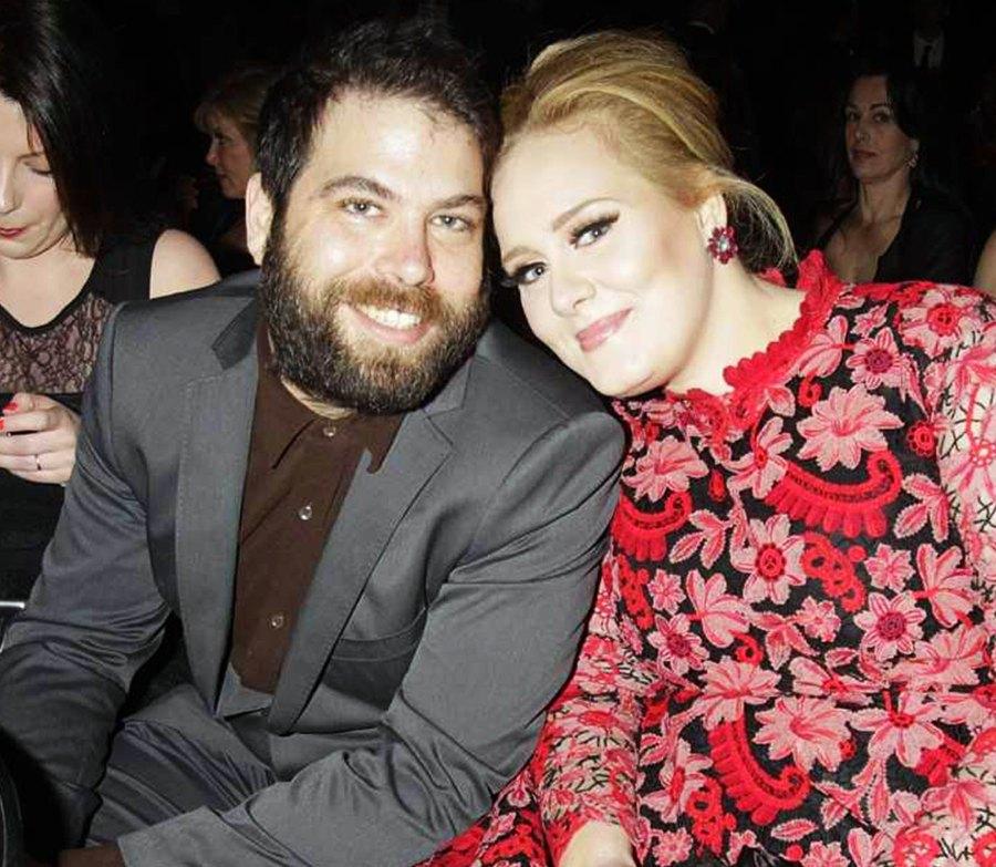 Simon Konecki and Adele push present
