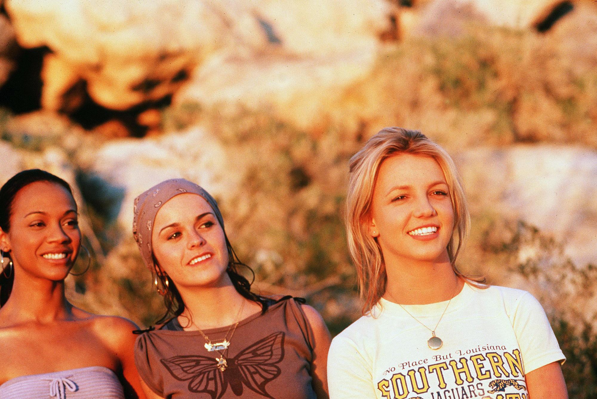 Taryn Manning, Zoe Saldana, Britney Spears Crossroads