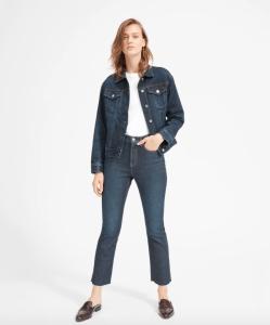 The Denim Jacket (Vintage Dark Blue Wash)