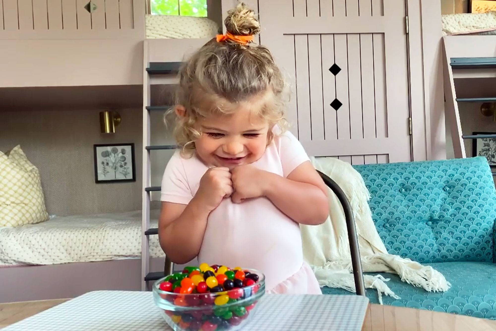 Thomas Rhett and Lauren Akins' Daughter Ada James Had an Adorable Response to the Candy Challenge