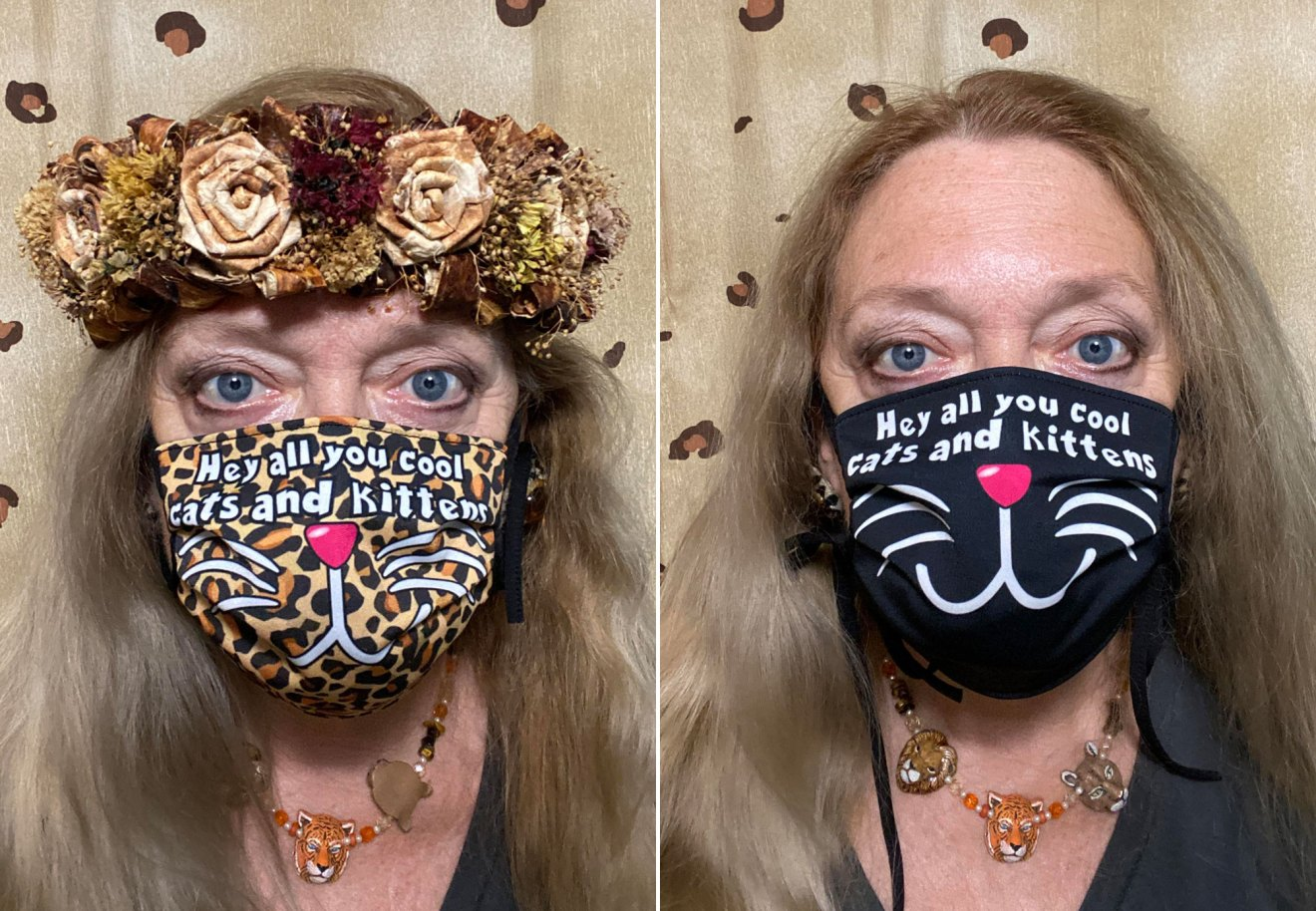 Cat Face Masks