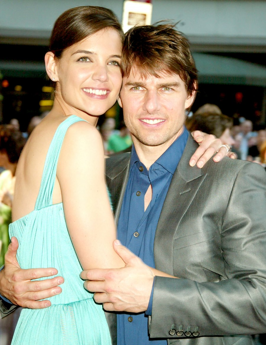 Tom Cruise and Katie Holmes push present