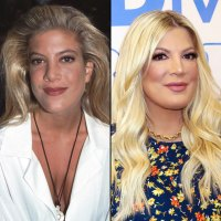 Tori Spelling Beverly Hills 90210 Cast Then and Now