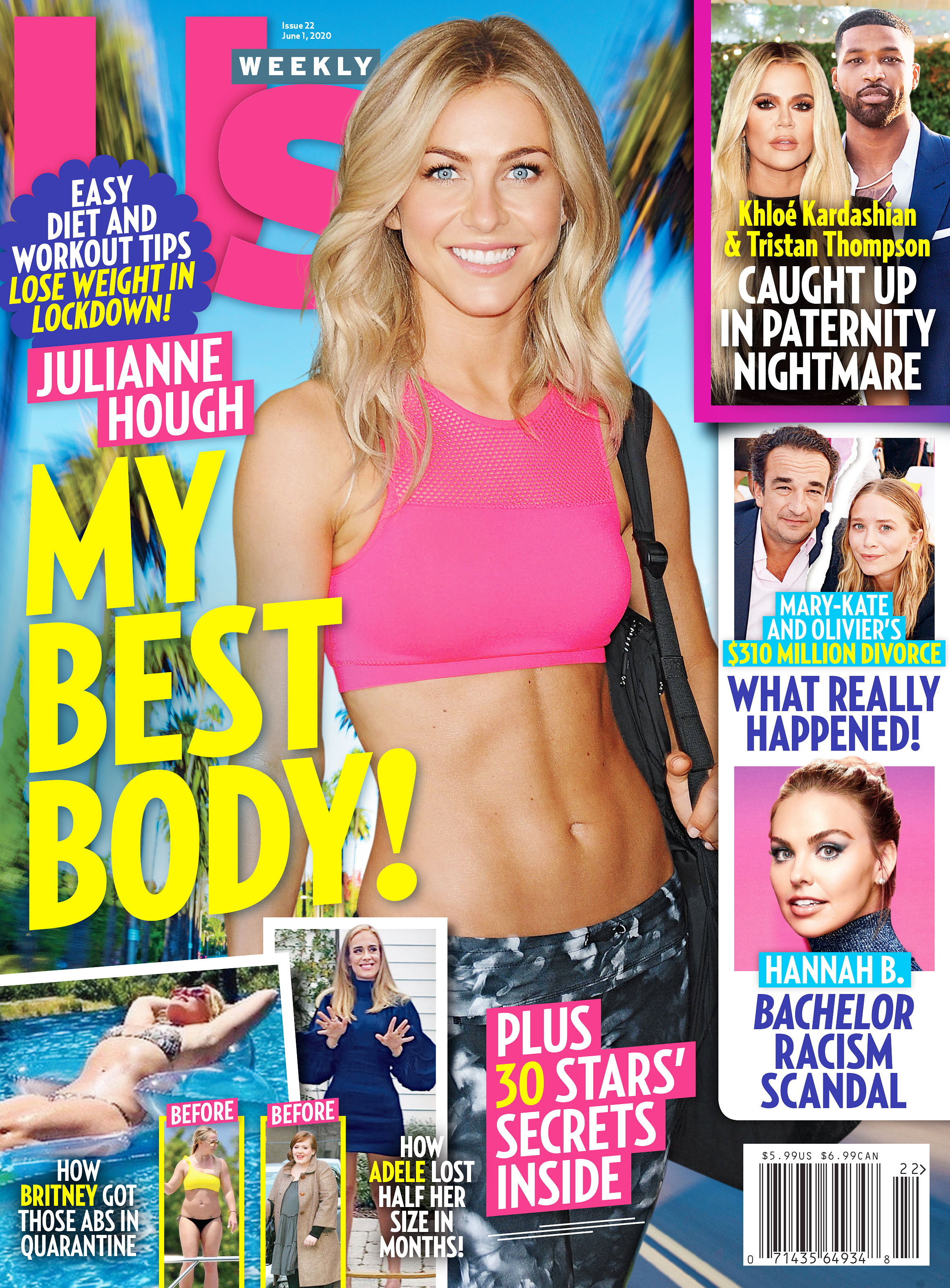 Us Weekly Cover Issue 2220 Julianne Hough