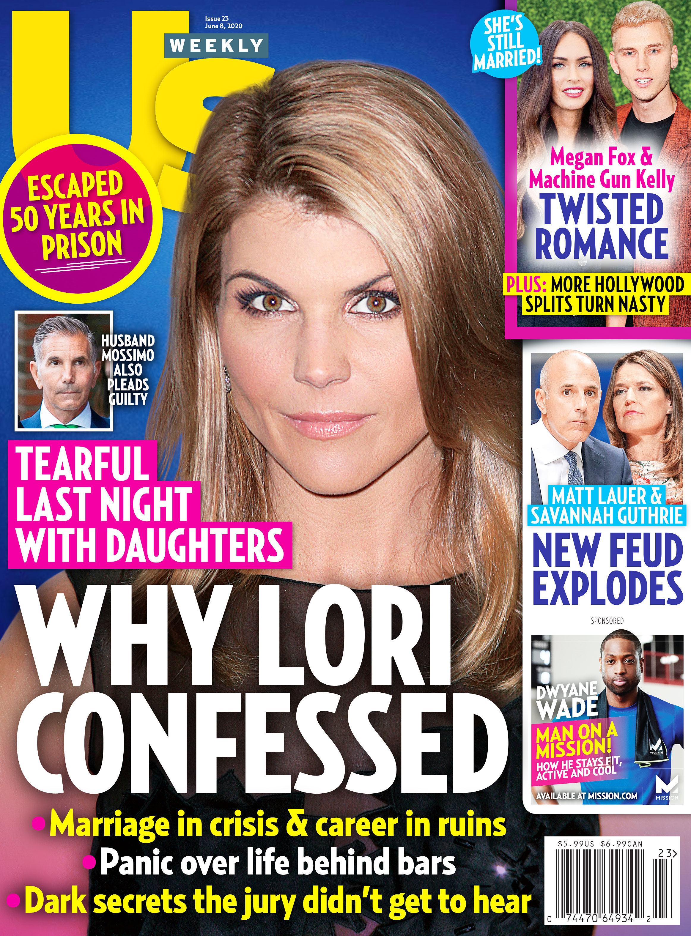 Us Weekly Cover Issue 2320 Lori Loughlin