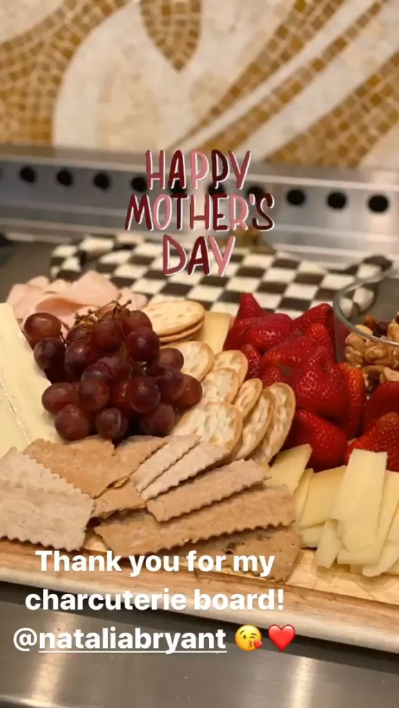 Vanessa Bryant Mothers Day Charcuterie Board