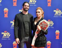 WWE Becky Lynch Pregnant Expecting 1st Child With Fiance Seth Rollins