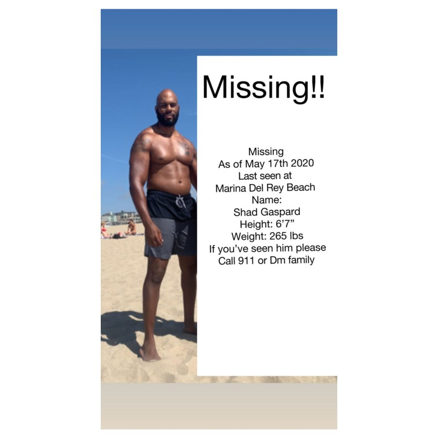 WWE Star Shad Gaspard Missing