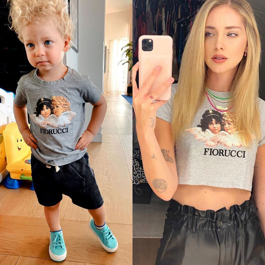 Who Wore It Best? Chiara Ferragni or Her 2-Year-Old Son