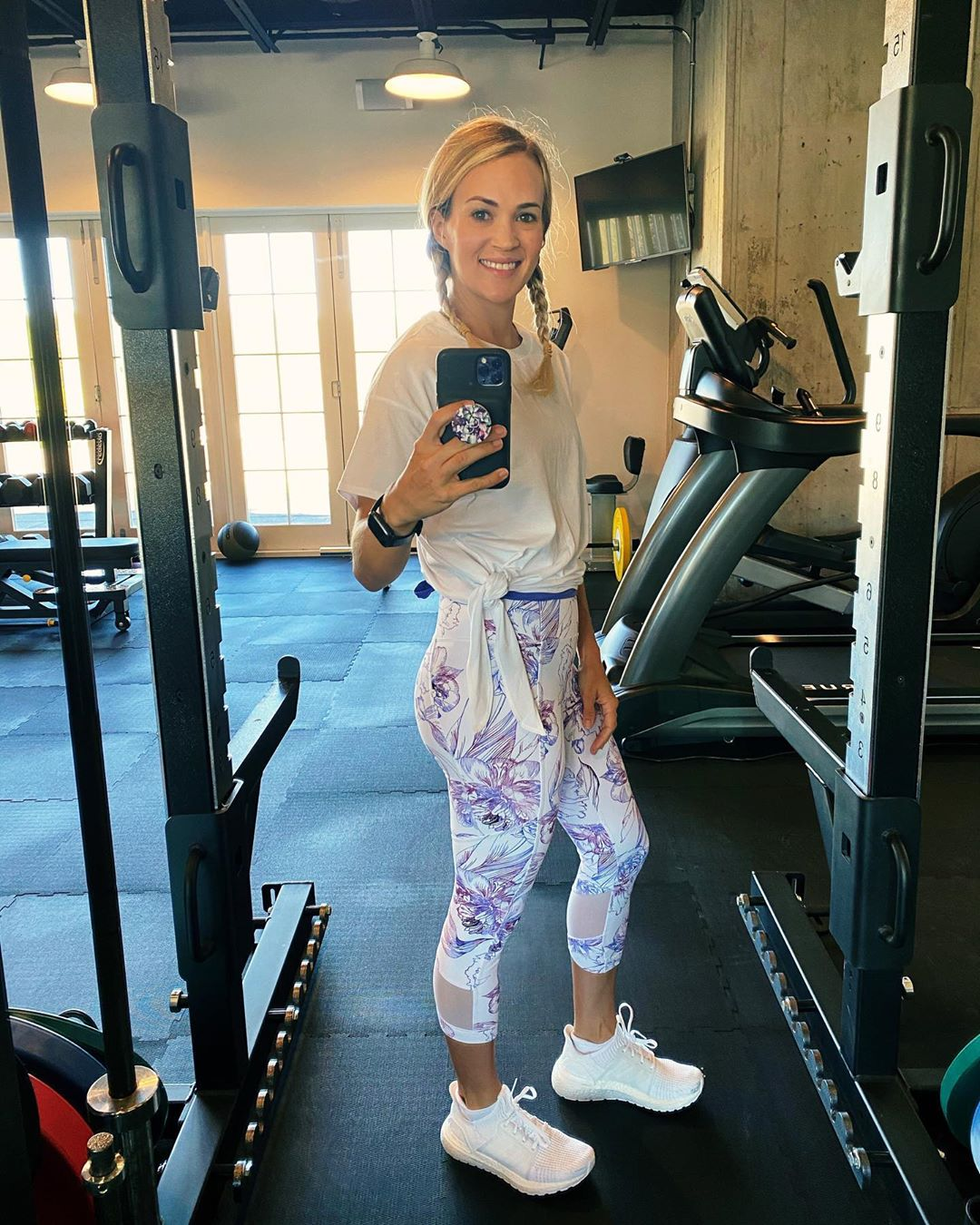 What Carrie Underwood Does to Stay in Shape