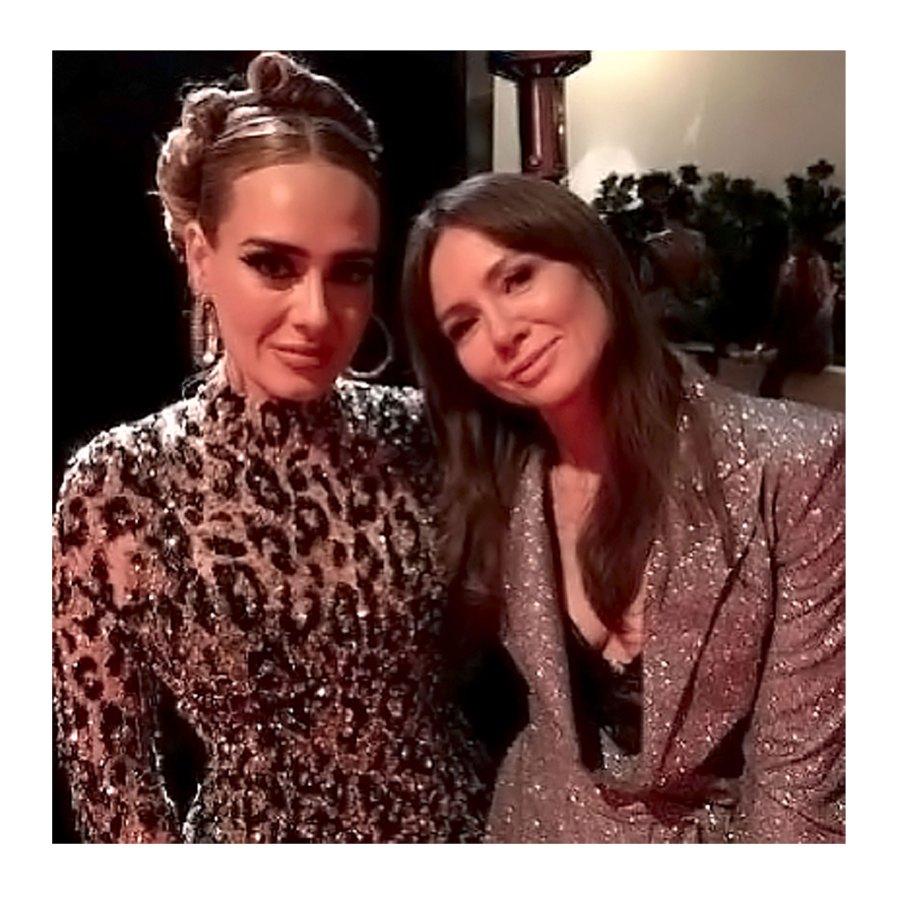Adele and Polish TV Presenter Kinga Rusin in February 2020 Adeles Amazing Transformation