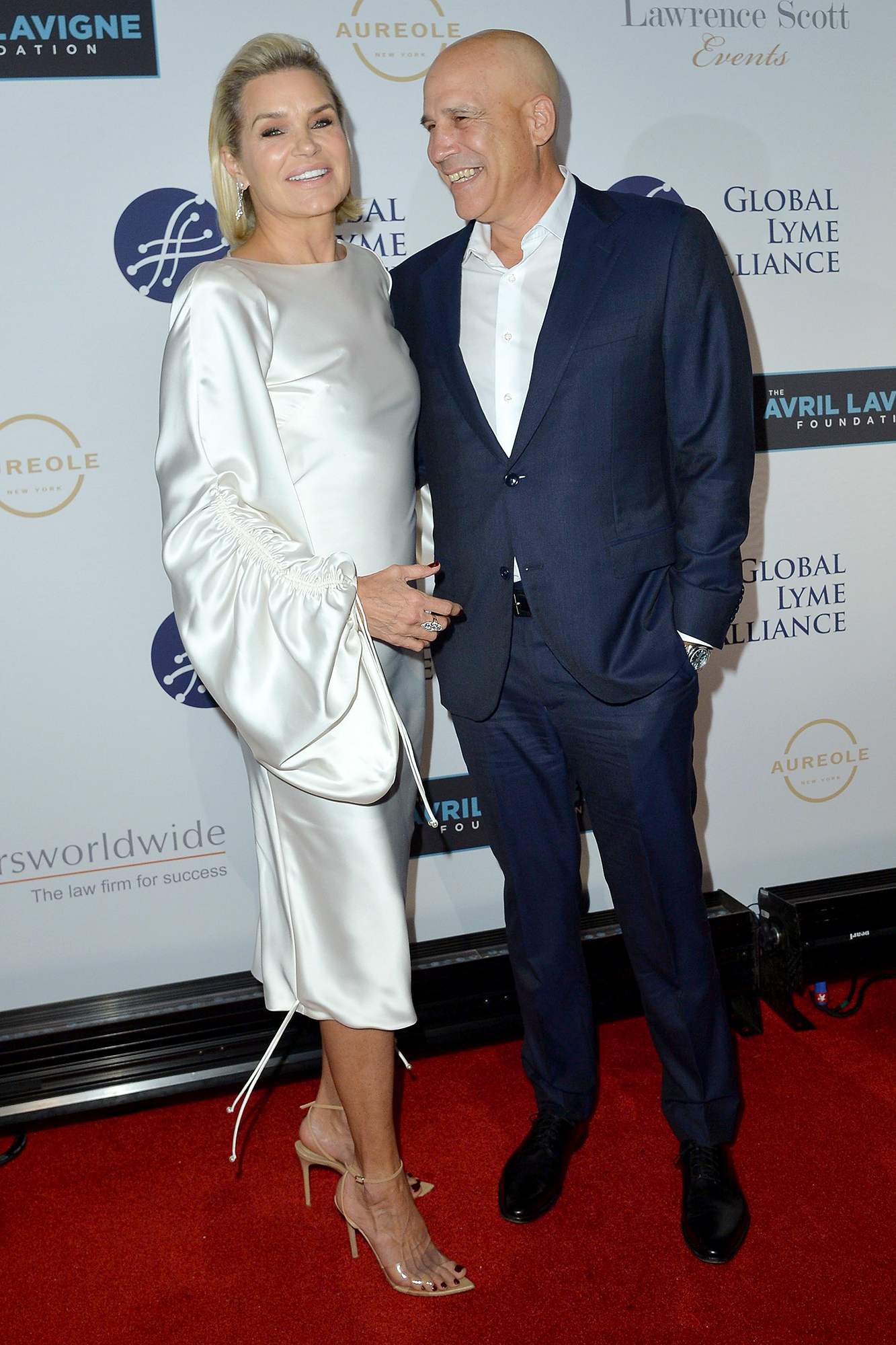Yolanda Hadid and Joseph Jingoli In Love 15 Years Global Lyme Alliance Gala