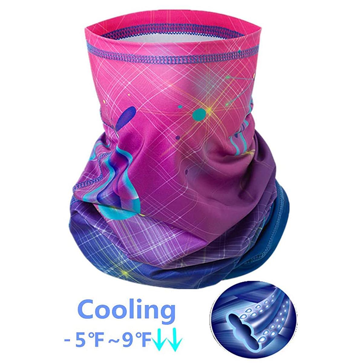 Peabownn Cooling -5 Degree Summer Neck Gaiter