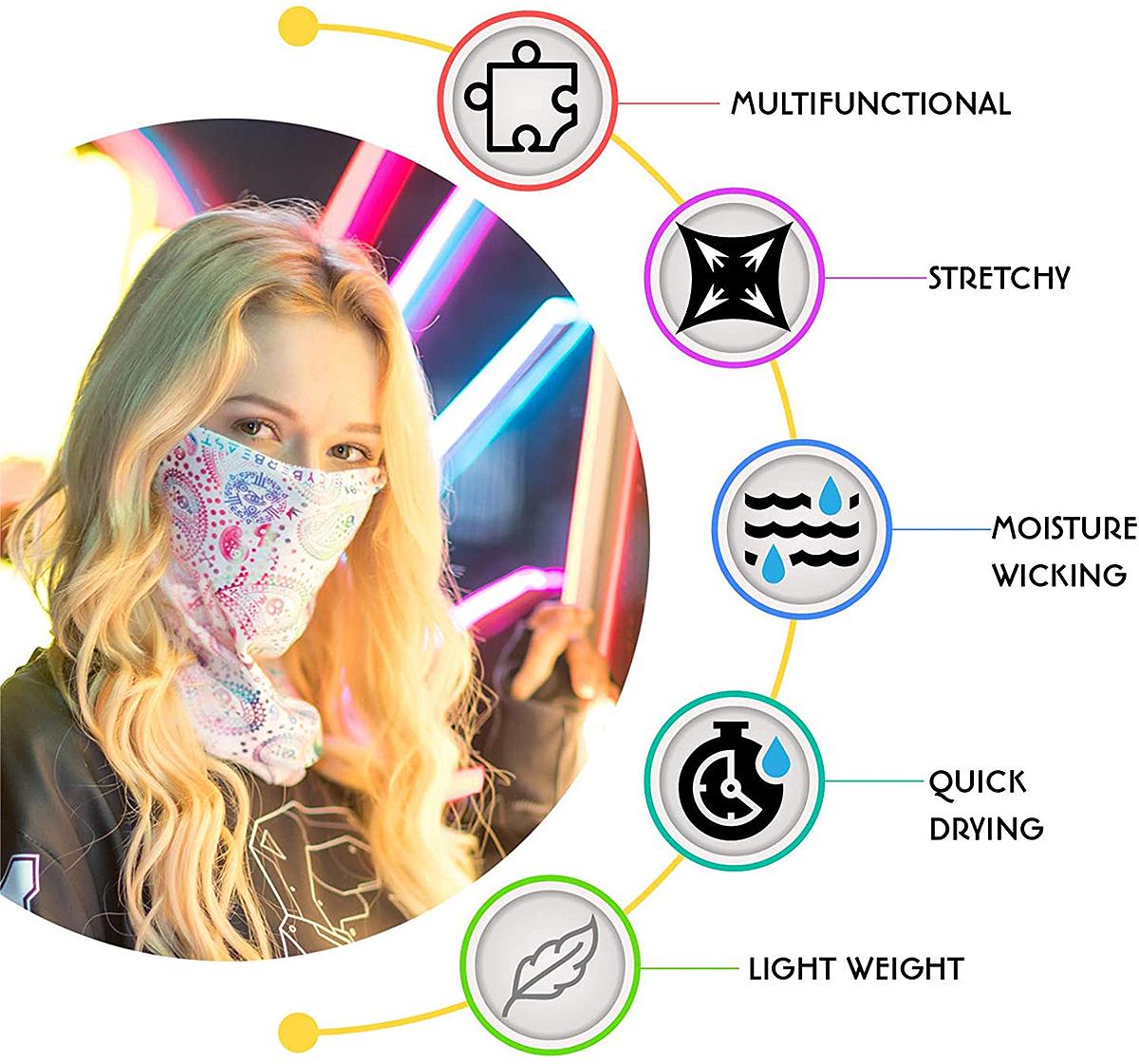 CyberBeast Rave Face Mask