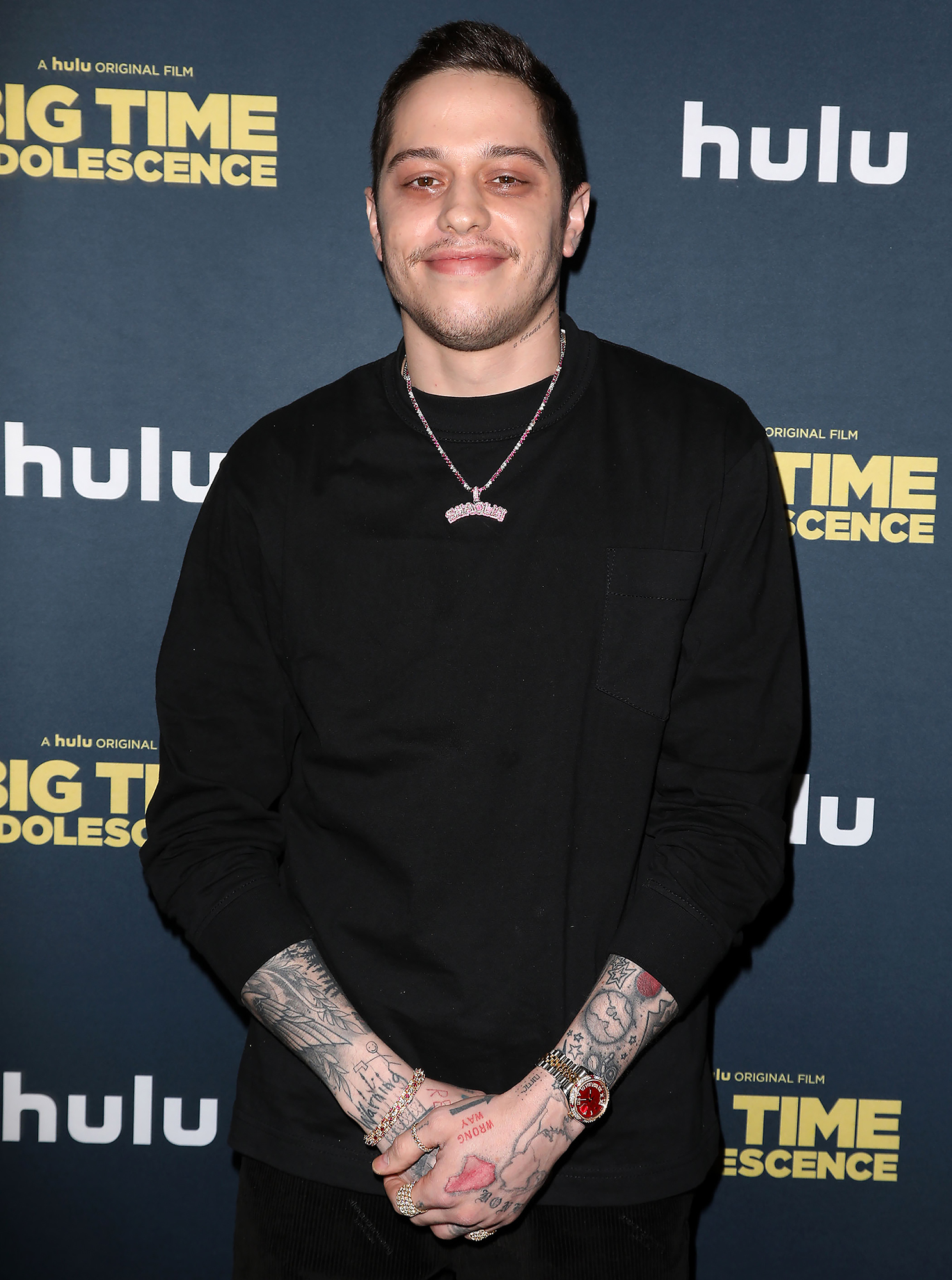 Pete Davidson Jokes He Is 'So Bored' While 'Off of Drugs' in Quarantine With His Mom