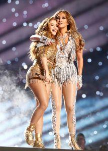 Jennifer Lopez Teaches Shakira How to Booty Shake in Super Bowl Rehearsal Video