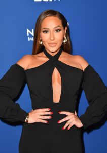 Adrienne Bailon Shows Off 20-Lb Weight Loss With Bikini Selfie