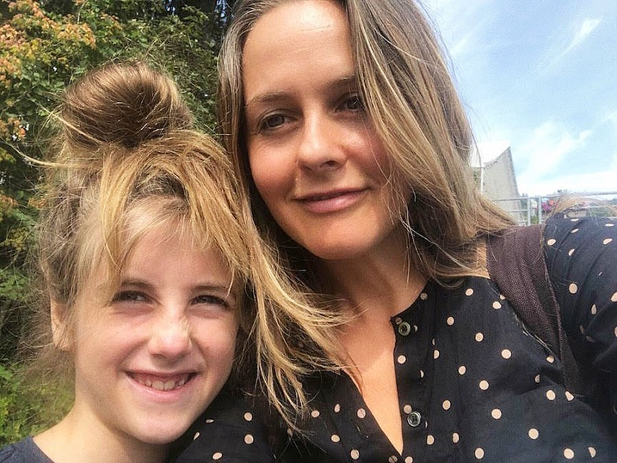 Alicia Silverstone and Bear Alicia Silverstone Best Parenting Quotes About Raising Son Bear