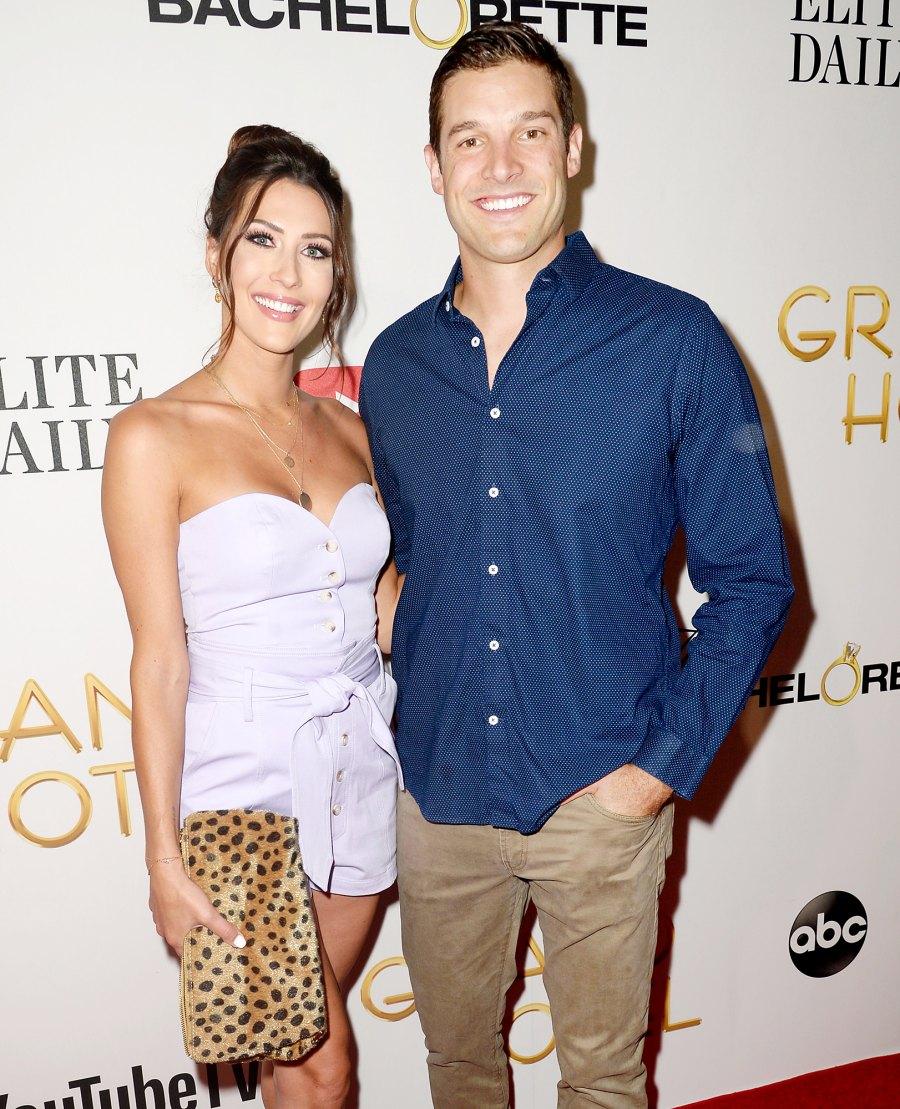 Becca Kufrin and Garrett Yrigoyen at Grand Hotel Premiere Becca Kufrin and Garrett Yrigoyen Relationship Timeline